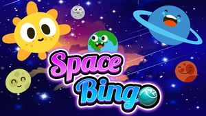Space Bingo for Kids
