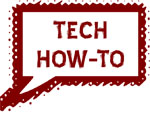 Tech How-To:  Shop f