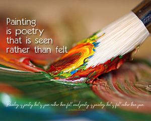 Painting & Poetry Wo