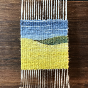 A weaving class with